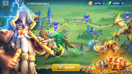 Idle War: Legendary Heroes  screenshots 1