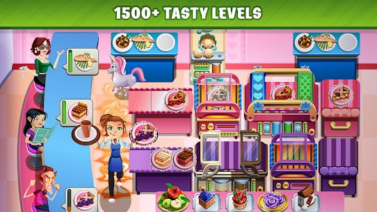 Cooking Dash MOD APK (Unlimited Gold) 2