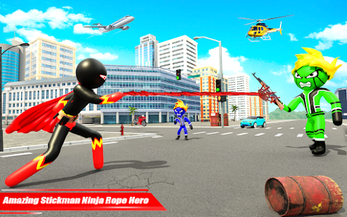 Real Police Stickman Rope Hero 18 Screenshots 11