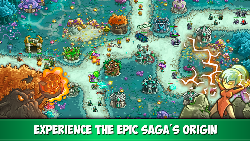 Kingdom Rush Origins - Tower Defense Game apktreat screenshots 2