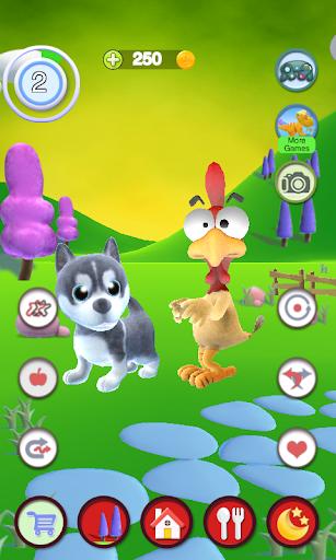 Talking Puppy And Chick 1.30 screenshots 2