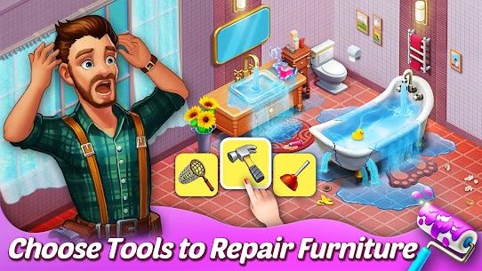 Matchington Mansion APK (MOD, Unlimited Coins) for Android 1