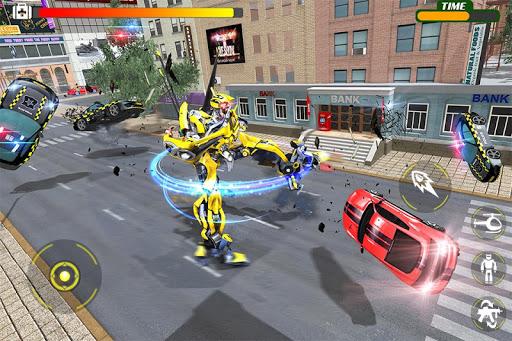 Helicopter Robot Transform War u2013 Air robot games  screenshots 1