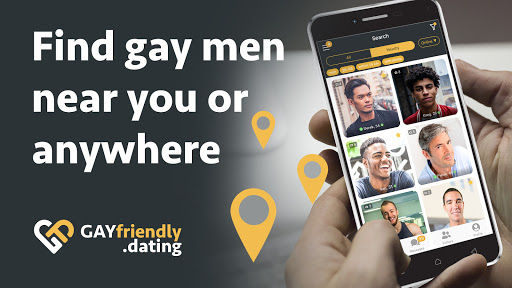 Gay guys chat & dating app - GayFriendly.dating 1.45 APK screenshots 2