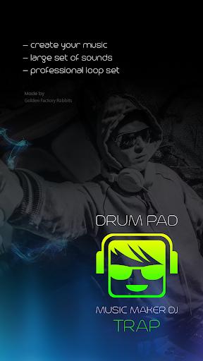 drum pad trap music maker dj screenshot 3