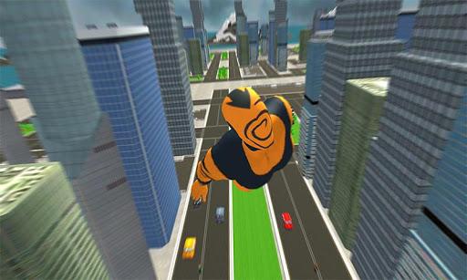 Flying Superhero Revenge: Grand City Captain Games screenshots 2
