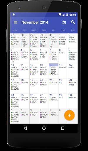 Today Calendar Pro  screenshots 4