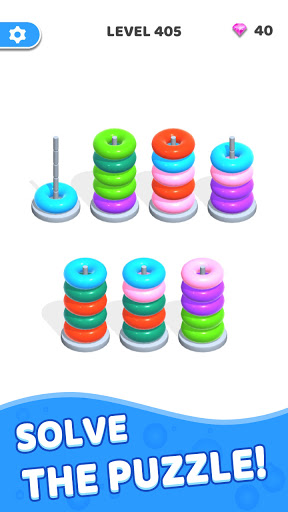 Color Hoop Stack - Sort Puzzle 1.0.3 screenshots 4