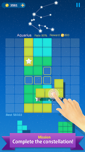 Block Puzzle Constellation; Mission 1.0.4 screenshots 8