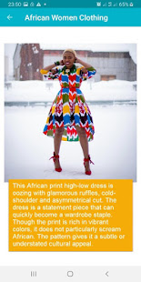 African Women Cloth Styles 9.0.5 Screenshots 3