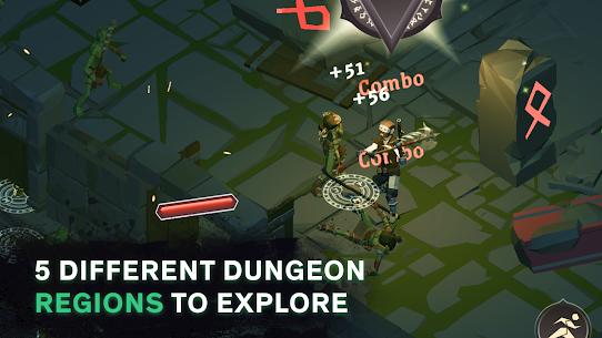 Dread Rune Mod Apk: Roguelike Dungeon Crawler (Unlimited Diamonds) 3