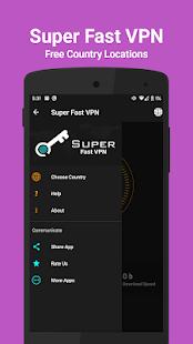 Super Fast VPN - Ultra Secure Unlimited Free VPN