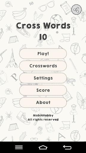 CrossWords 10 1.0.115 screenshots 1