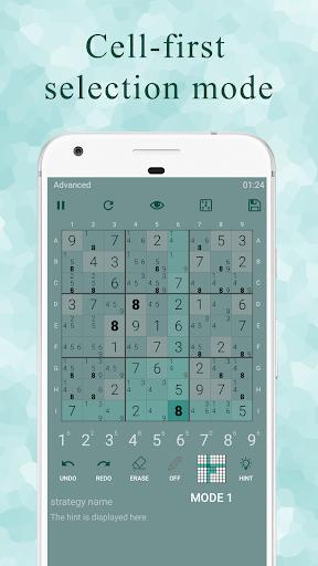 Ninja Sudoku - Classic & Killer Sudoku logic hint Apkfinish screenshots 4