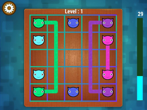 connect the dot : cat color line screenshot 3