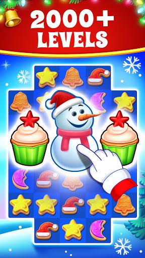 Christmas Cookie - Santa Claus's Match 3 Adventure screenshots 1
