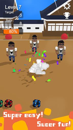 Touch Out - Simple dodge ball game 1.0.8 screenshots 1