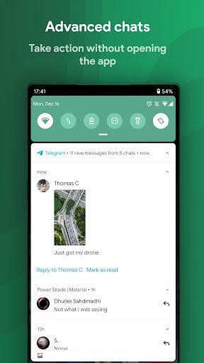Power Shade: Notification Panel & Quick Settings apktram screenshots 7