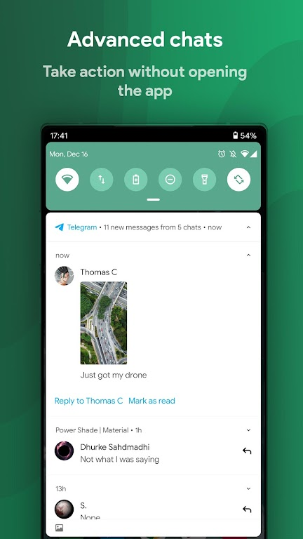 Power Shade: Notification Panel & Quick Settings poster 6