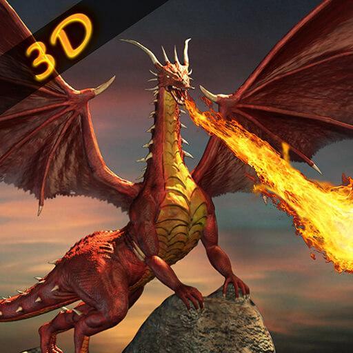 Grand Dragon Fire Simulator - Epic Battle 2019