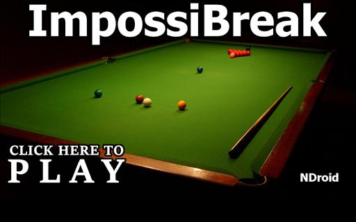 snooker - impossibreak screenshot 1