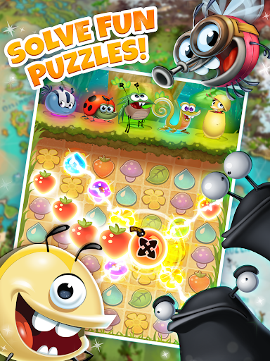 Best Fiends - Free Puzzle Game apkpoly screenshots 9