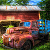 Rusty Cars Slide Puzzle