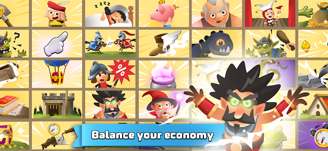 Idle King - Medieval Clicker Tycoon Games 1.0.24 APK + Mod (Unlimited money) for Android