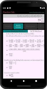 Fraction Calc - Fraction Calculator