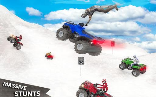 ATV Quad Derby Racing: Snow Trials Bike Xtreme  screenshots 3
