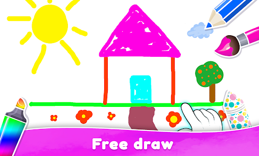 Coloring Book For Kids & Toddlers Drawing Game 5