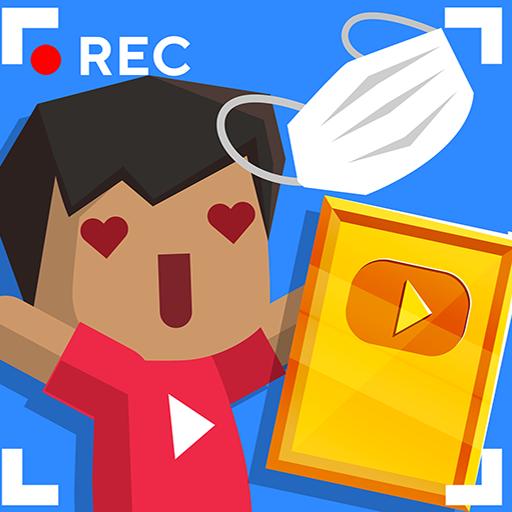 Vlogger Go Viral: Simulador de Streamer Tuber Idle
