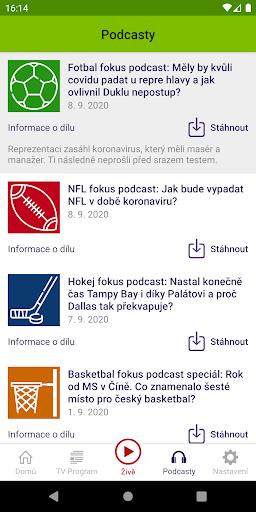 u010cT sport 2.1.0 Screenshots 6