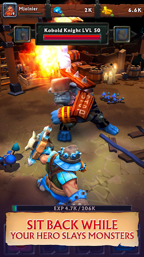 Clicker Idle Heroes RPG - Never Ending Dungeon  screenshots 3