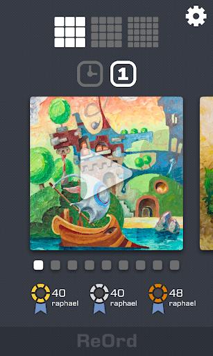 reord - slide puzzle screenshot 1