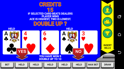 Video Poker Classic Double Up 6.20 screenshots 2