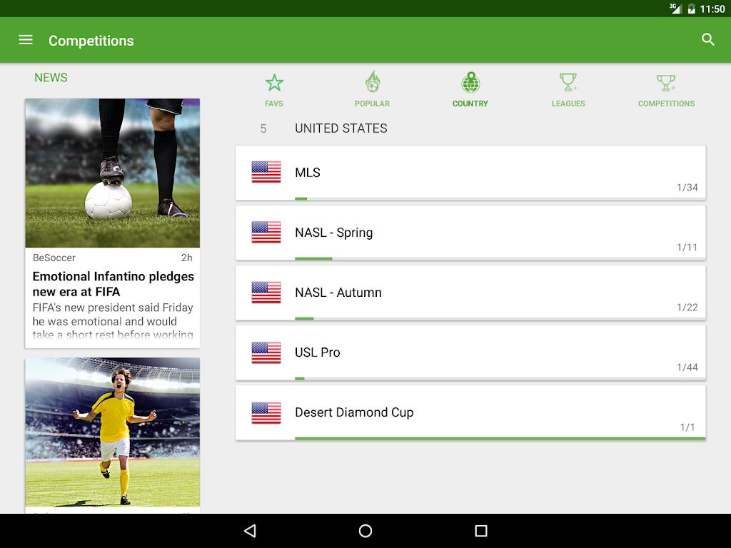 BeSoccer - Soccer Live Score  poster 8