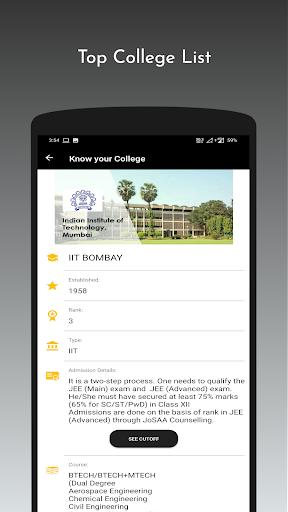 JeeAB360: Jee mains, IIT, Rank & College predictor android2mod screenshots 6