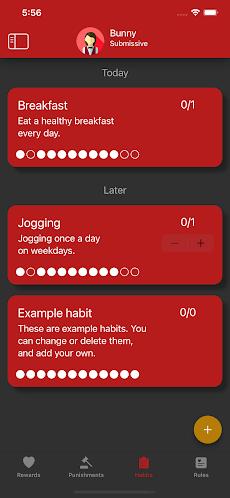 Obedience: BDSM habit tracker app for couplesのおすすめ画像1