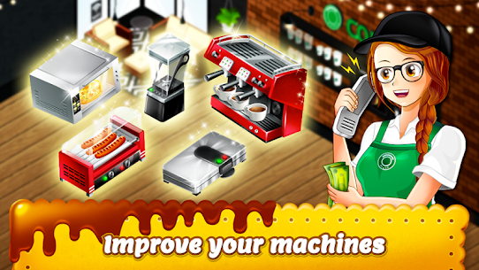 Cafe Panic: Cooking Restaurant MOD Apk 1.26.15a (Free Shopping) 3