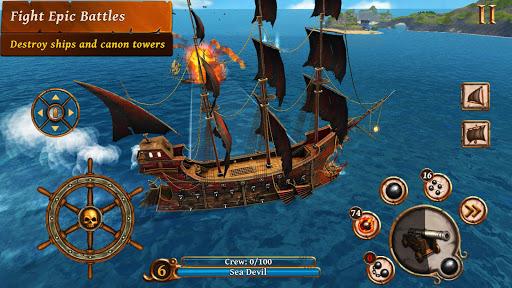 Ships of Battle - Age of Pirates - Warship Battle 2.6.28 Screenshots 7