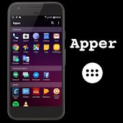 App launcher drawer