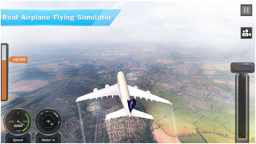 Airplane Games 2021: Aircraft Flying 3d Simulator 2.1.1 screenshots 9
