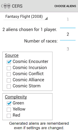 Cosmic Encounter Race Selector For PC Windows (7, 8, 10, 10X) & Mac Computer Image Number- 7