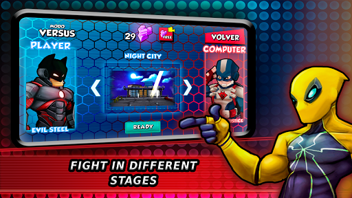 Superheroes Fighting Games Shadow Battle 7.3 screenshots 7