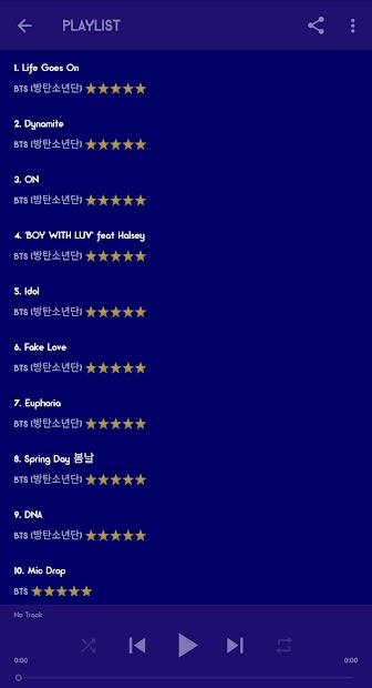 BTS Mp3 Offline (Life Goes On) screenshot 3