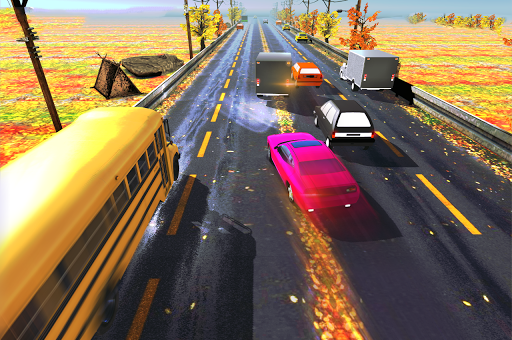 auto traffic racer screenshot 1