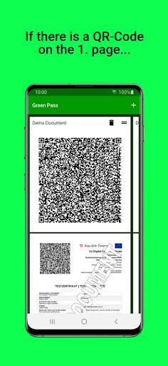 Green Pass PDF Wallet apktram screenshots 2