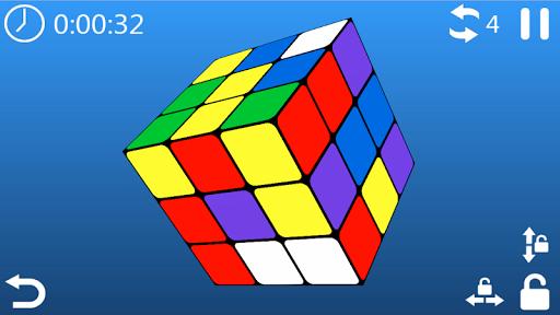 cube puzzle 3d 3x3 screenshot 1