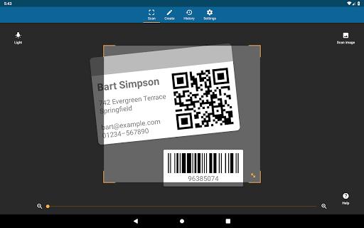 QRbot: QR & barcode reader android2mod screenshots 11